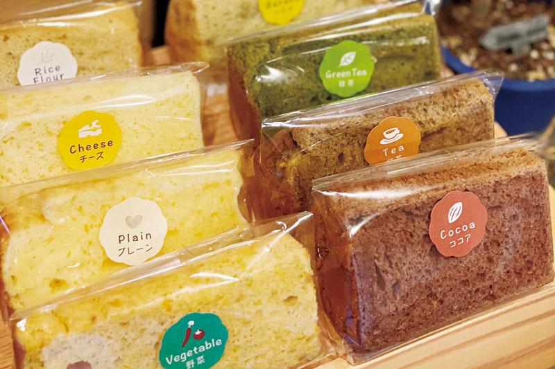 国産の原料にこだわったシフォンケーキが買えるお店
