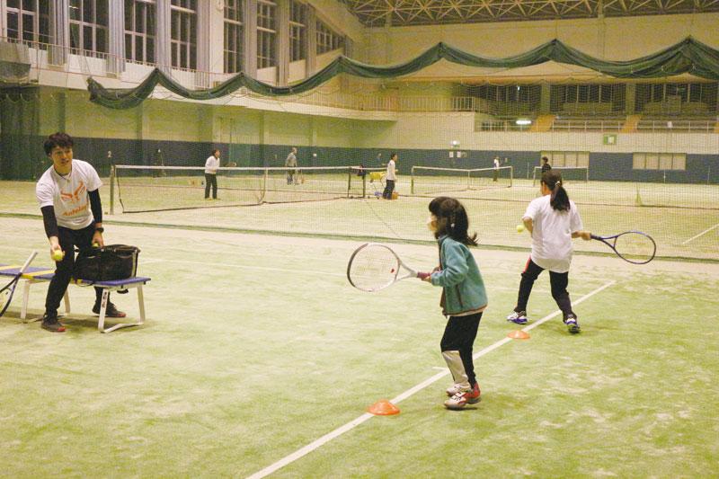 幼児から始められるテニススクール天童市にOPEN 生徒募集中!!